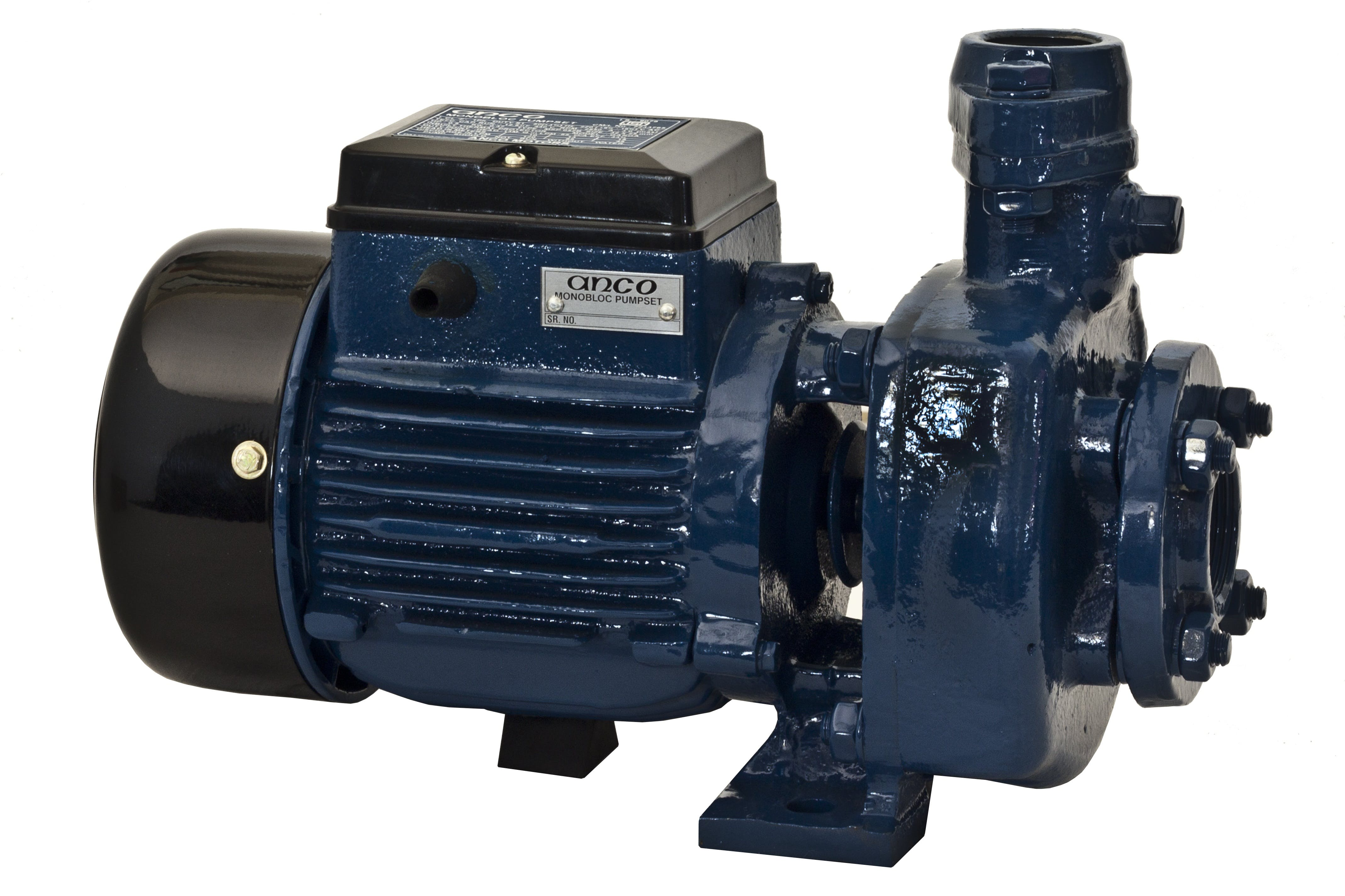 Blue and Black Water Pump
