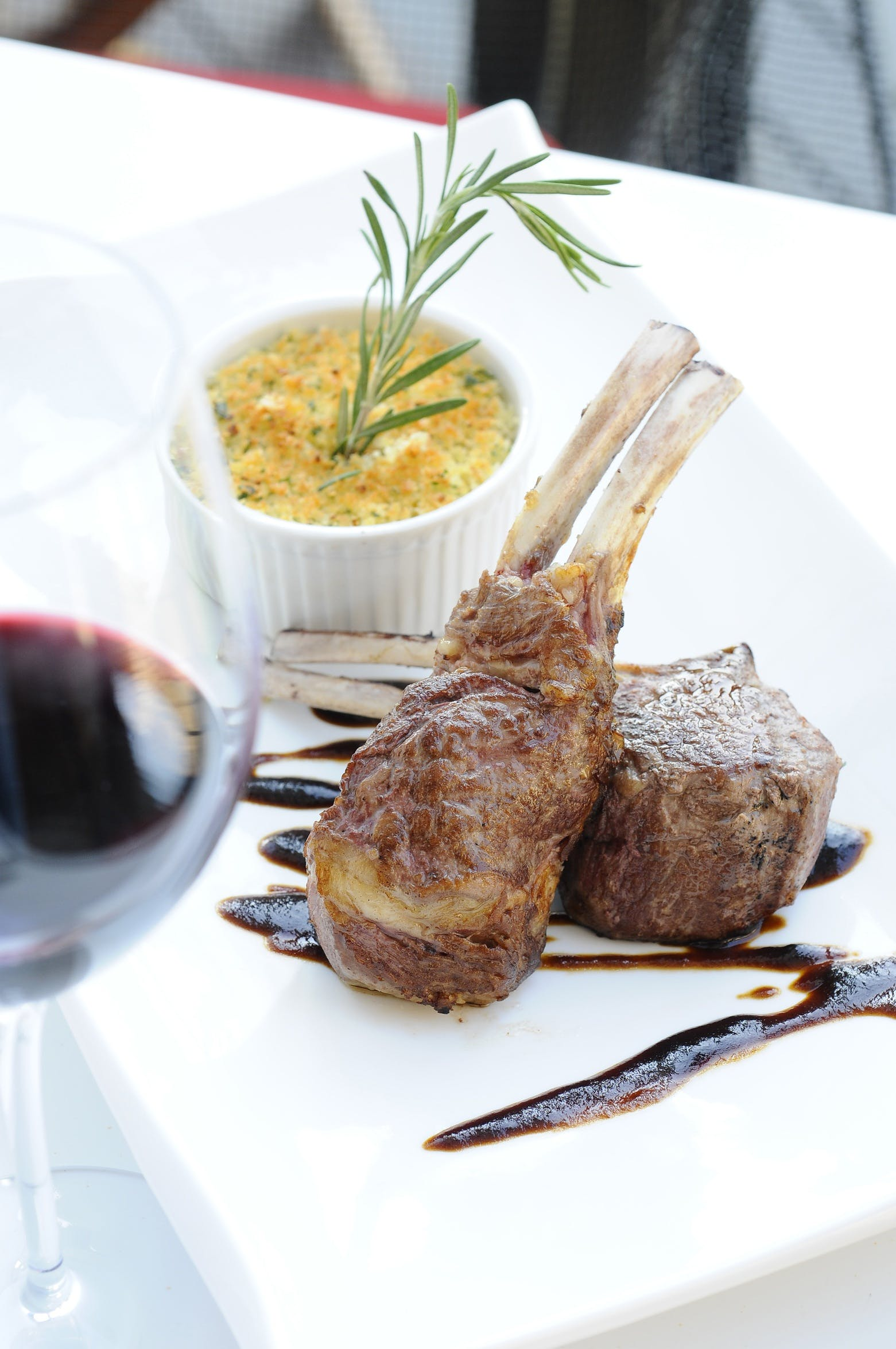 Free stock photo of food, italy, rack of lamb