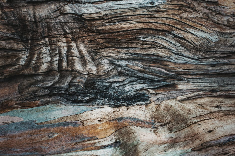 Wood art dark dirty
