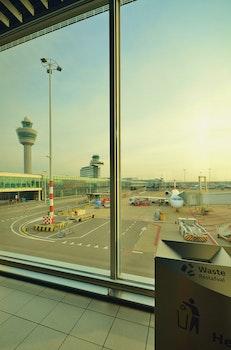 Free stock photo of airport, airplane, plane, terminal
