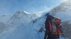 cold, snow, mountains