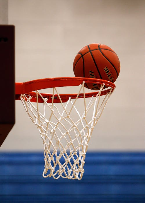 Kostenloses Stock Foto zu action, ball, band, basketball