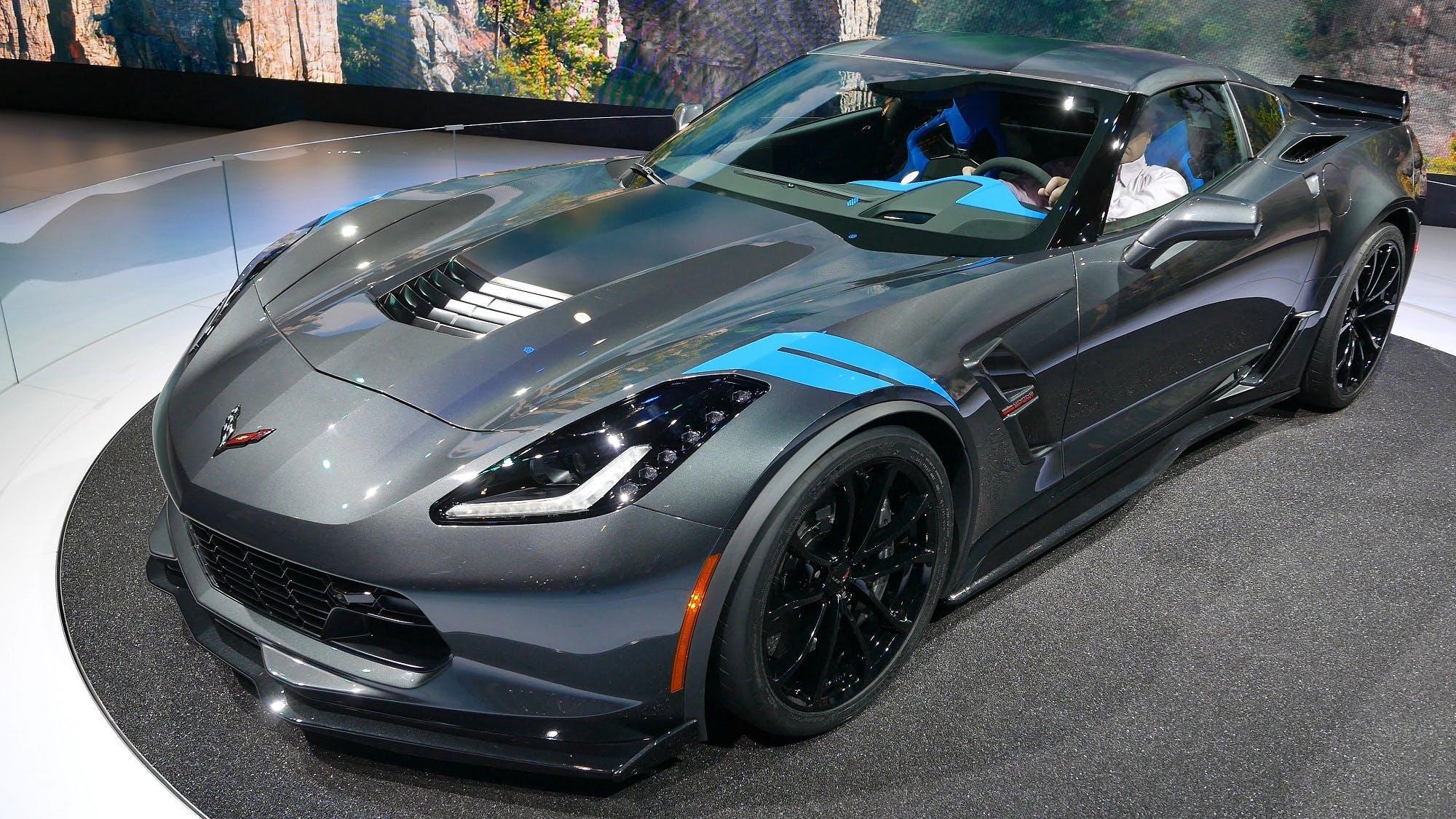 Black Chevrolet Corvette