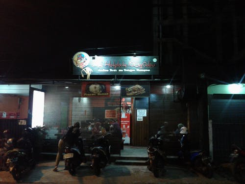 Free stock photo of (W.H.O) Warung Hotplate Kang Odon, Condet, Jakarta Timur