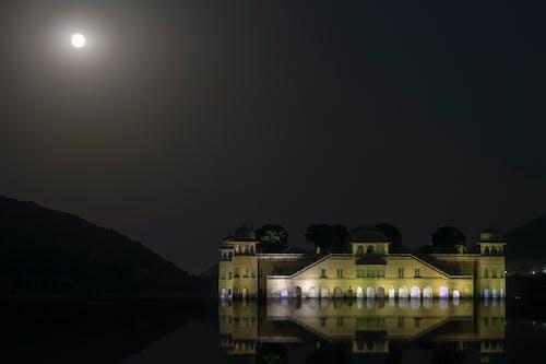 göl, jaipur, jal mahal içeren Ücretsiz stok fotoğraf