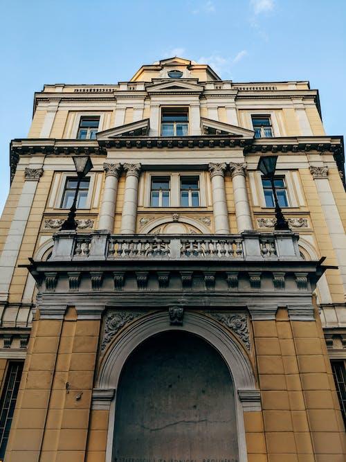 Free stock photo of Bosnia, building, column, entrance