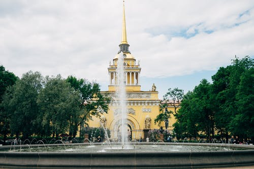 Free stock photo of building, europe, fountain, landmark