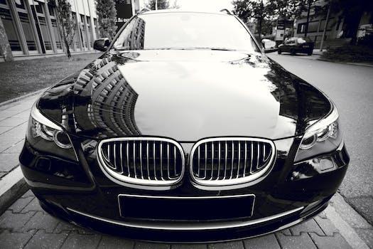 Free Stock Photo Of Black And White Street Car Vehicle