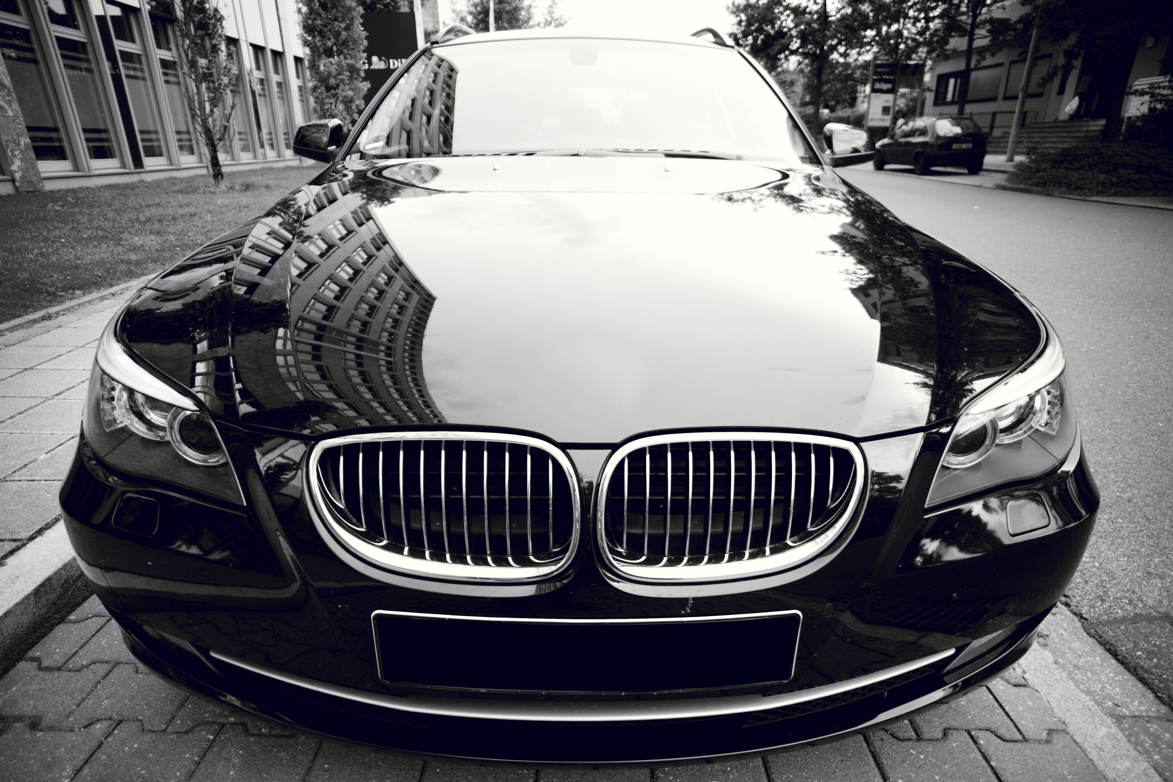 Black Mercedes Benz Car 183 Free Stock Photo