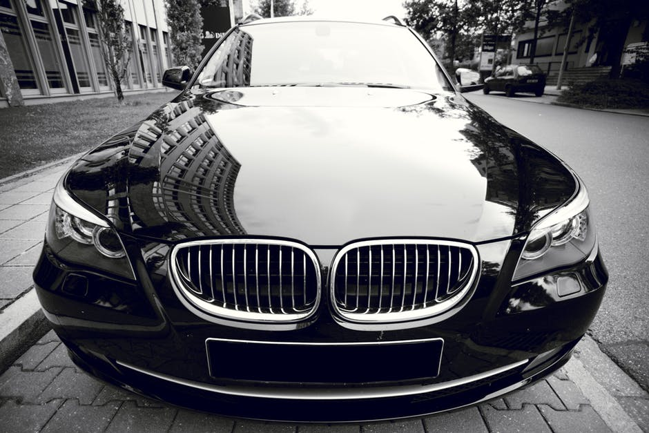 New free stock photo of black-and-white, street, car