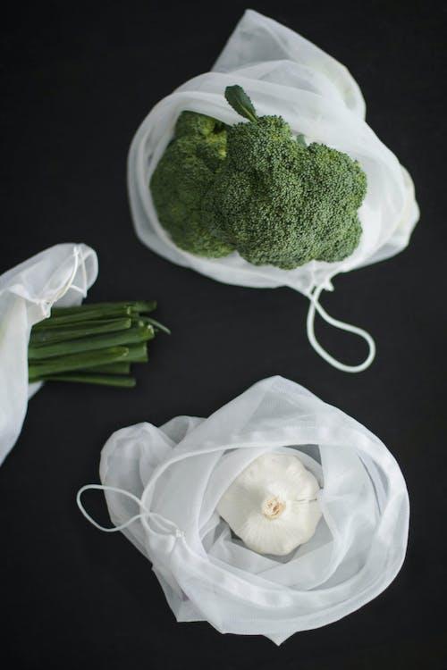 Kostenloses Stock Foto zu brokkoli, flatlay, frisches gemüse