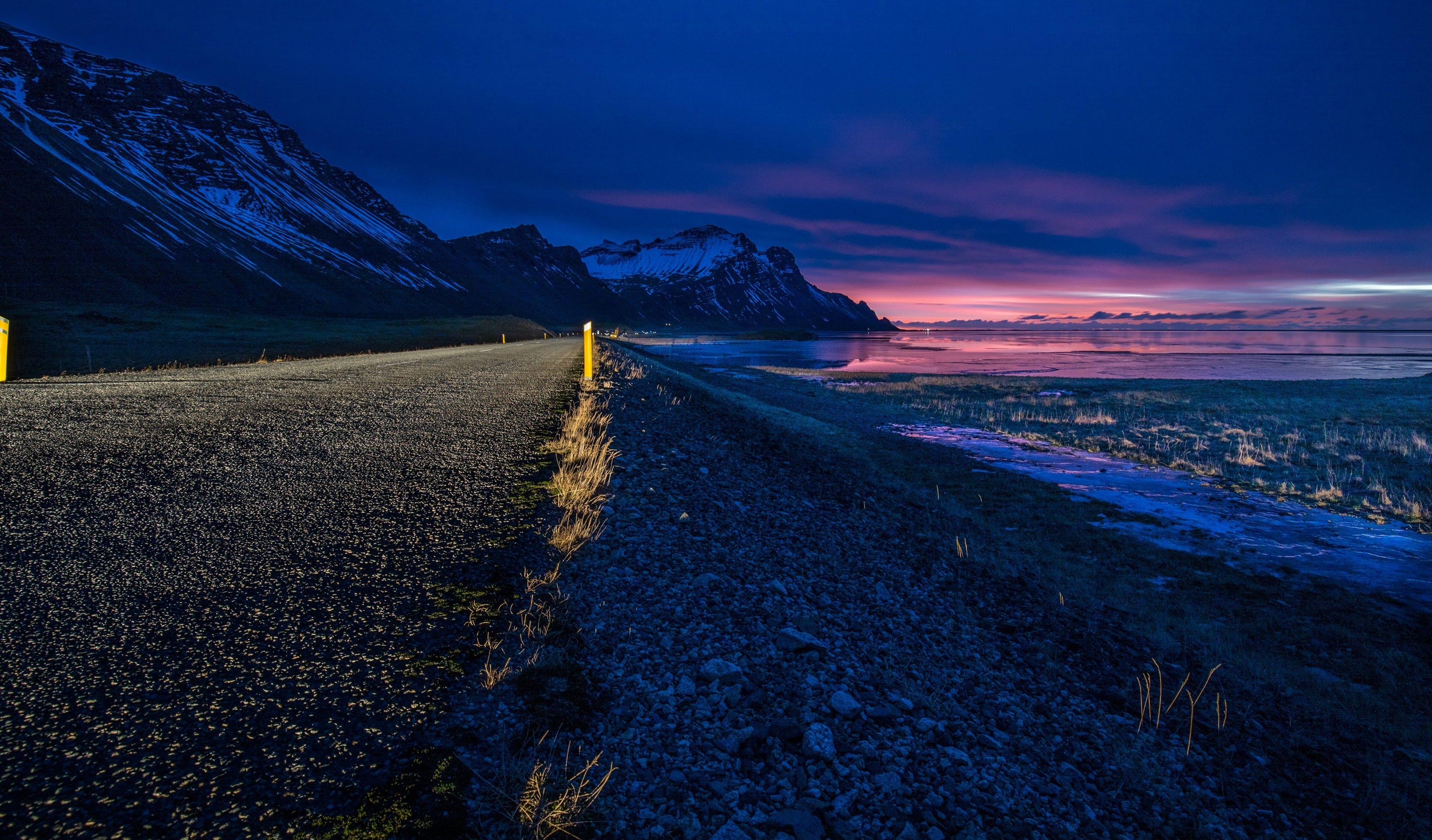 beach, countryside, dawn