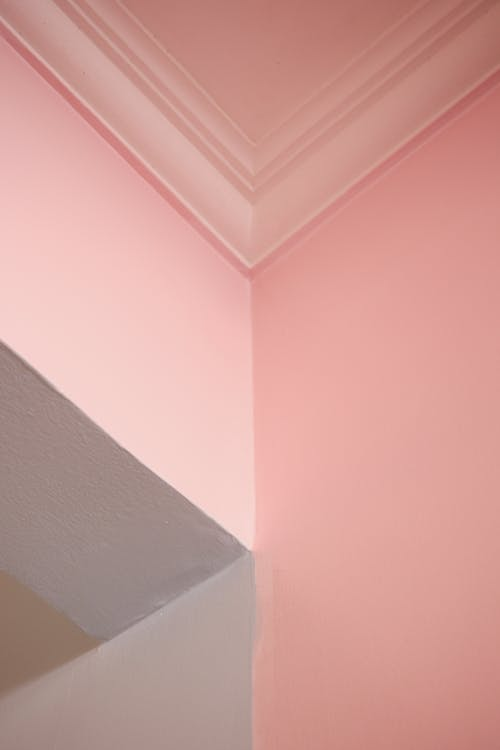 pink wall With pink Ceiling