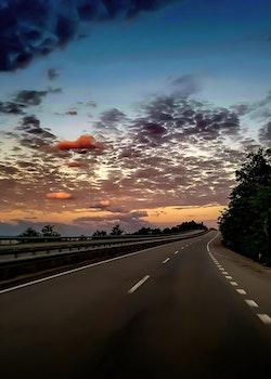 Free stock photo of light, road, landscape, sky