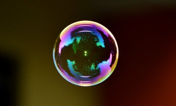 Free stock photo of colorful, reflection, sphere, bubble