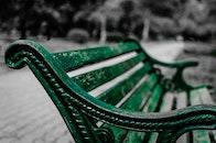 wood, sitting, green