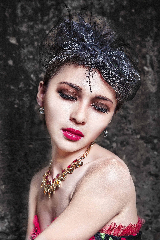 beautiful, fashion, female