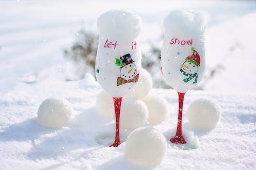 Fotos de stock gratuitas de bolas de nieve, brillante, cálices, celebración