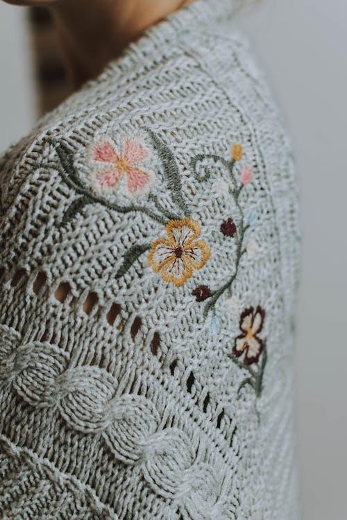 Foto profissional grátis de artesanal, artesanato, bordado, de malha