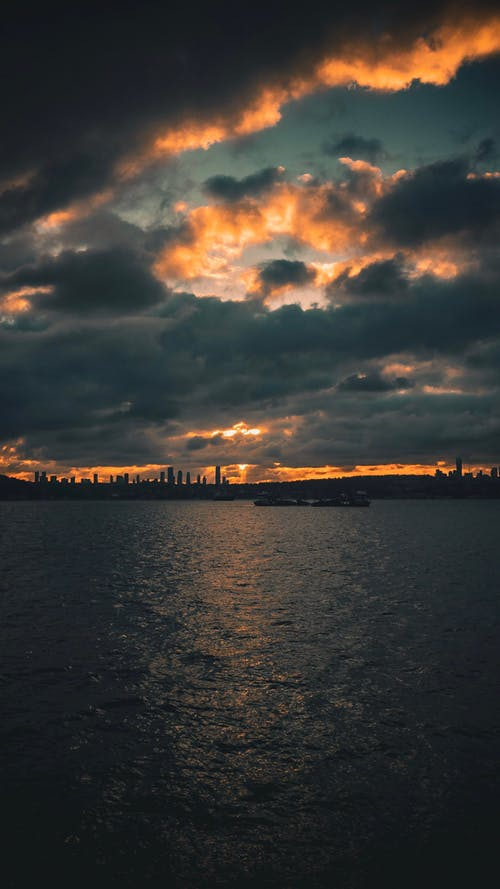 Free stock photo of adriatic sea, beach sunset, cloud