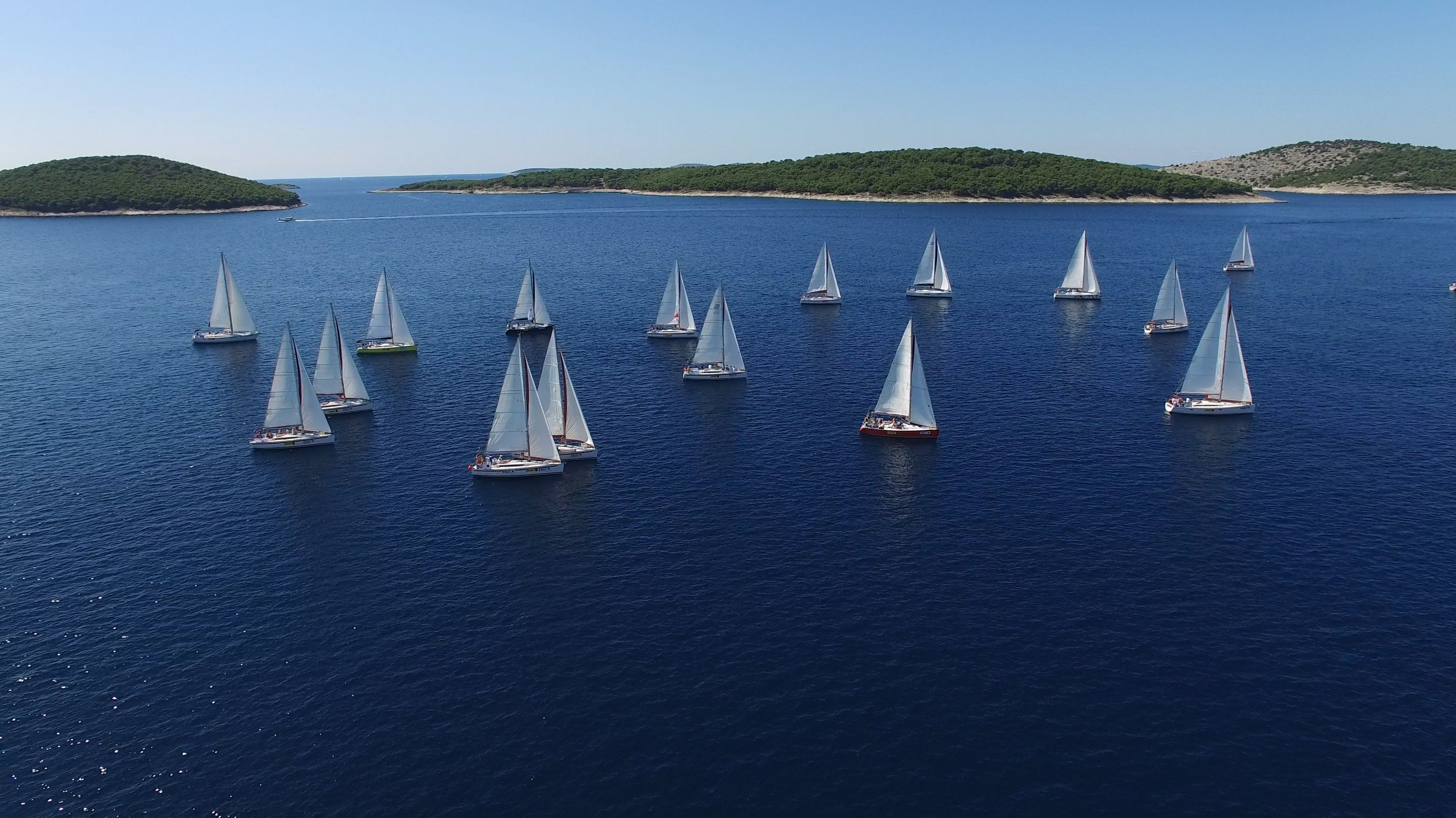 blue, boats, daylight