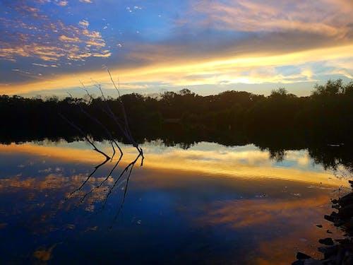 Photos gratuites de beau coucher de soleil, beau paysage, ciel coucher de soleil, fond d'écran