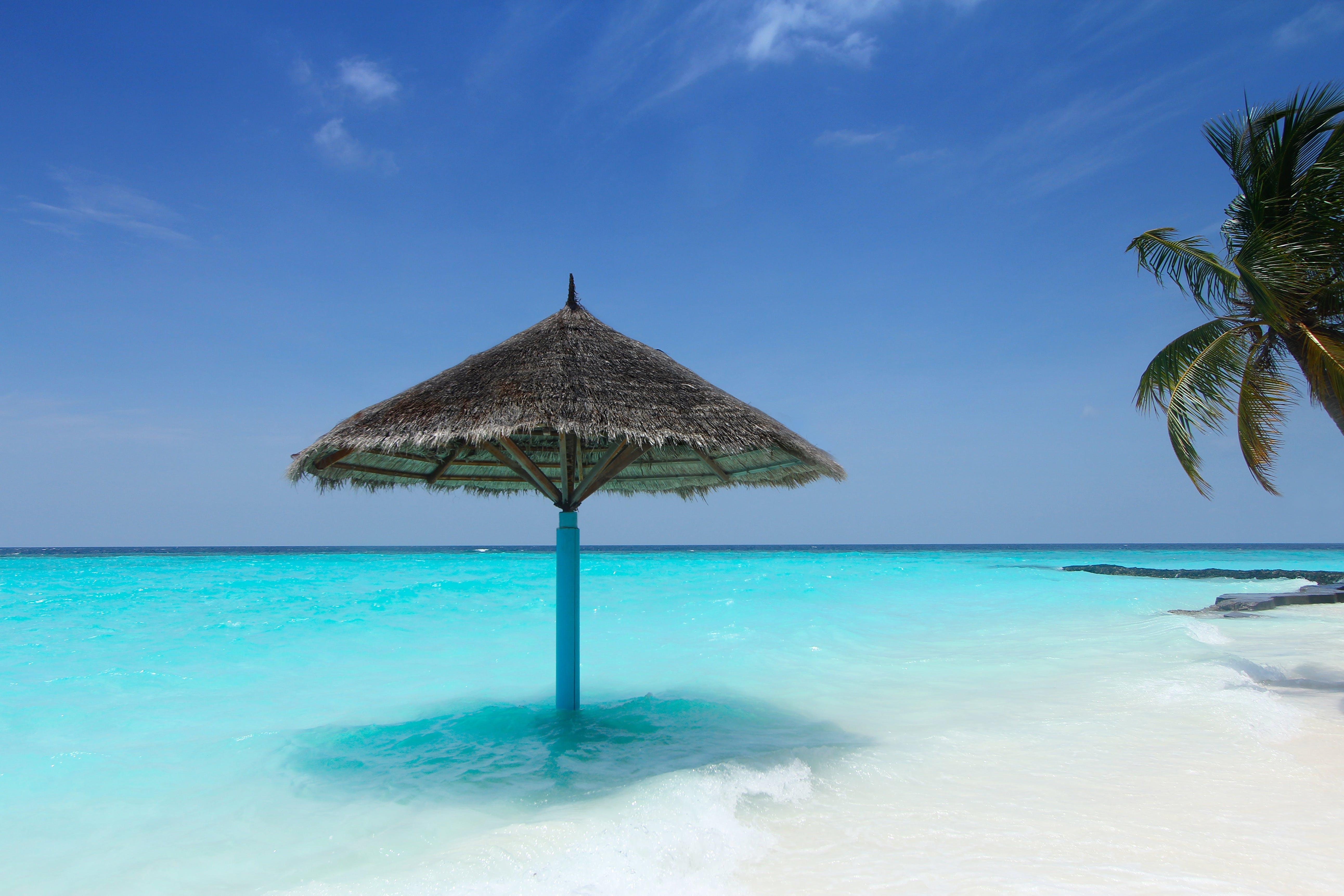 Ilmainen kuvapankkikuva tunnisteilla aurinko, hiekka, hiekkaranta, idyllinen