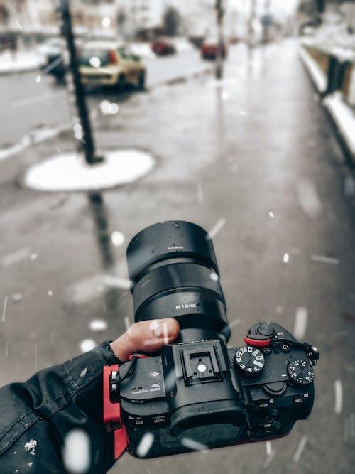 Imagine de stoc gratuită din aparat de fotografiat, fotograf, iarnă, lentilă aparat de fotografiat