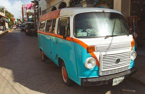 Imagine de stoc gratuită din automobil, colorat, drum, dubă