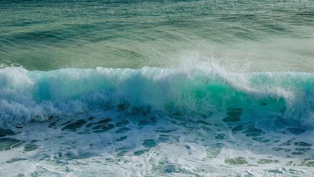 Free stock photo of sea, nature, beach, wave