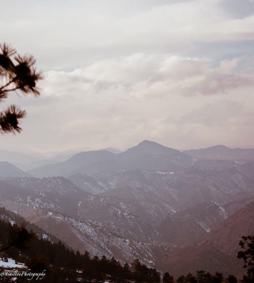 Gratis stockfoto met amerika, berg, blauwe bergen, sneeuw