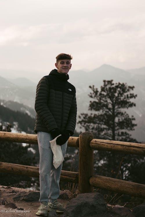 Gratis stockfoto met amerika, bergen, donkergroen, sneeuw