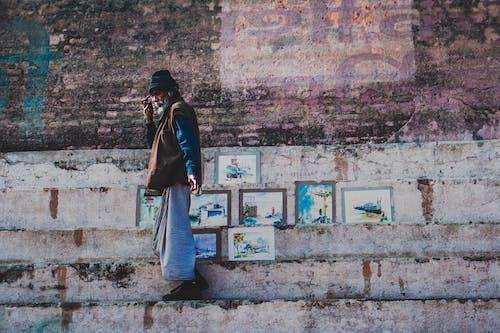 Gratis stockfoto met achtergelaten, architectuur, baksteen, bakstenen muur