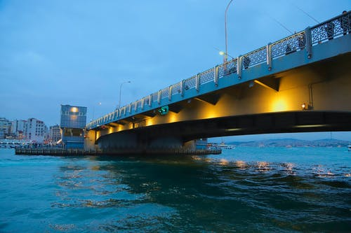 Free stock photo of bridge, galata tower, Istanbul, sea