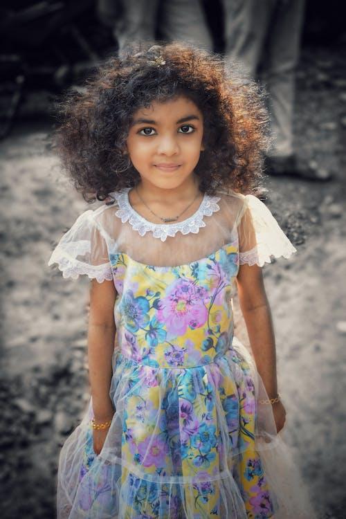 Free stock photo of beautiful, cute girl, cute kid, Kerala Girl