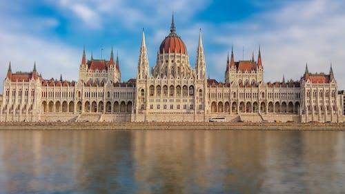 匈牙利, 匈牙利議會大樓, 反射, 古老的 的 免费素材照片