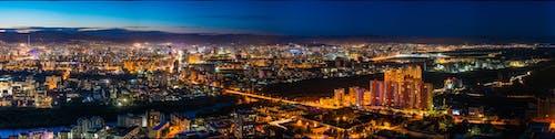 全景, 城市, 城市的燈光, 城鎮 的 免費圖庫相片