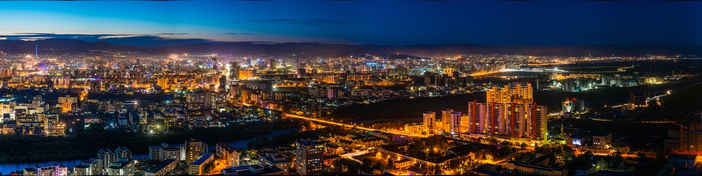 Free stock photo of city, sky, sunset, night