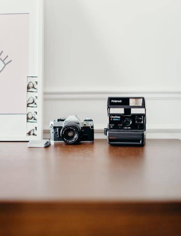 Caméras Noir Et Gris
