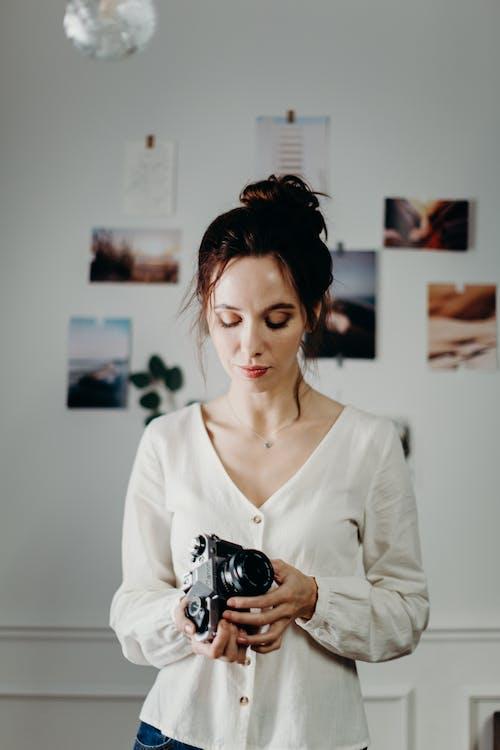 คลังภาพถ่ายฟรี ของ กล้อง, กล้องฟิล์ม, กล้องวินเทจ, กล้องอะนาล็อก