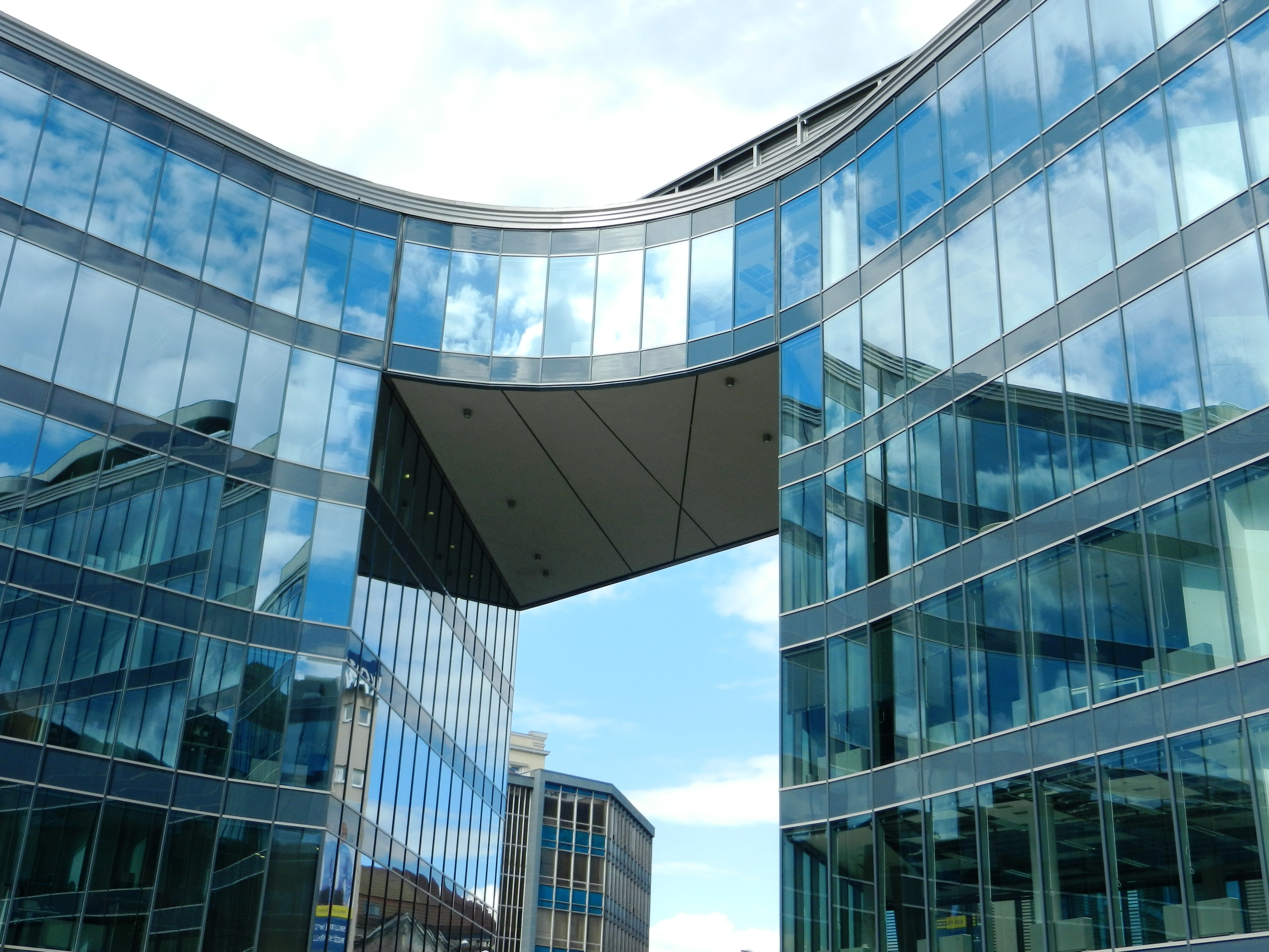 Free stock photo of building, office, glass, architecture