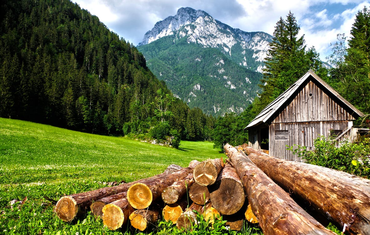 Alpen, berg, bergen
