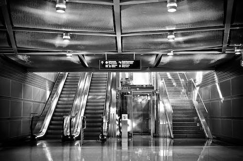Gratis stockfoto met architectuur, hedendaags, lift, luchthaven