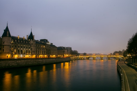 Free stock photo of city, dawn, france, landmark