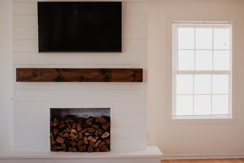 Free stock photo of cozy, fireplace, inside
