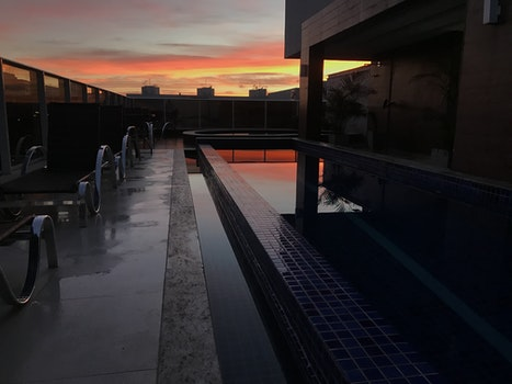 Free stock photo of dawn, sky, dark, building