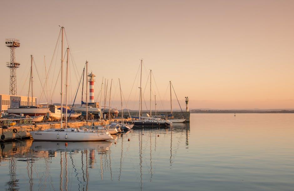 bay, boats, coast