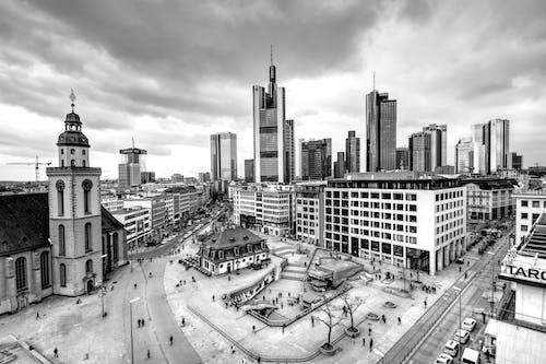 alman sosisi, Almanya, binalar, frankfurt içeren Ücretsiz stok fotoğraf