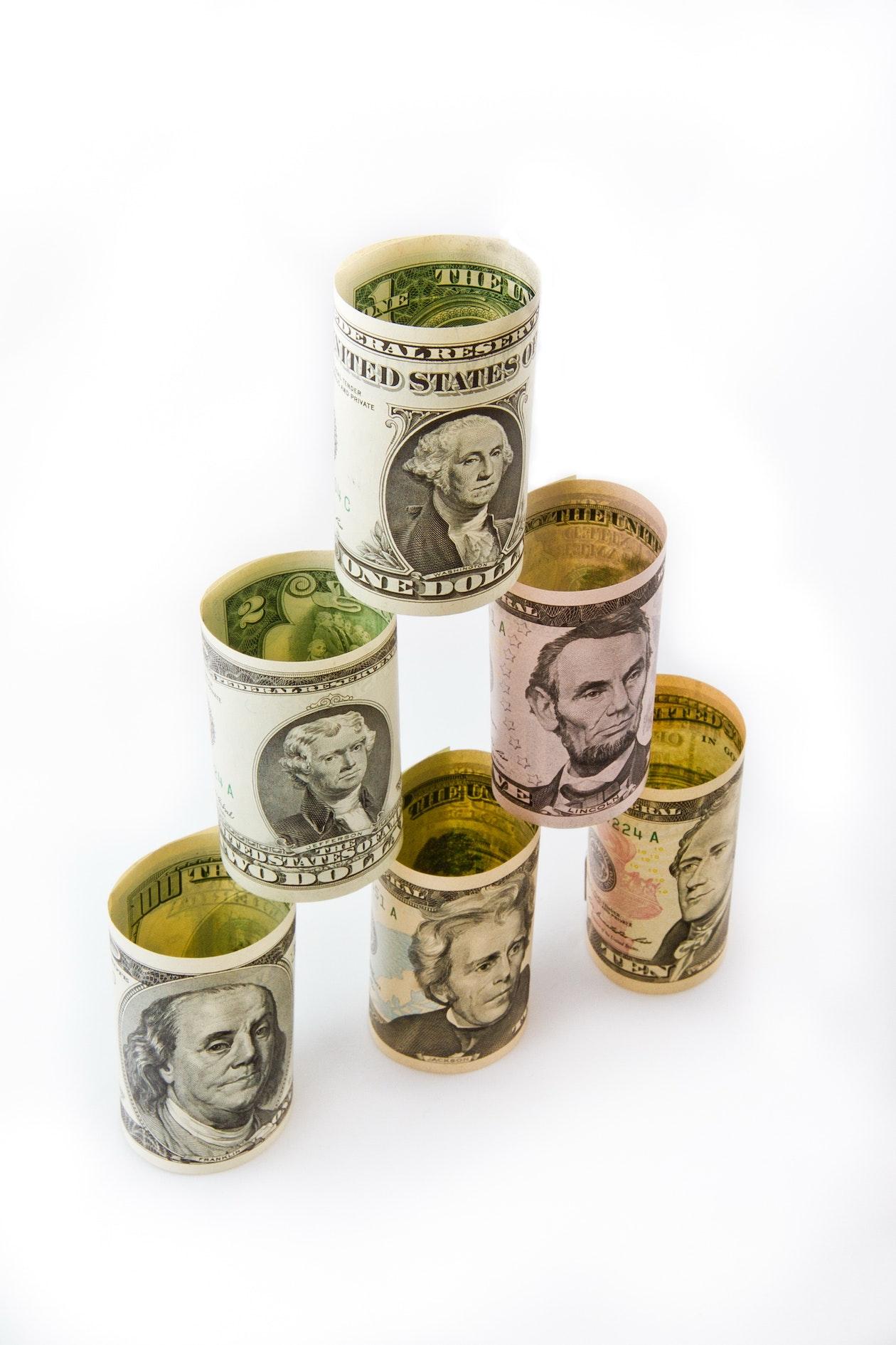 bank, banknotes, bill