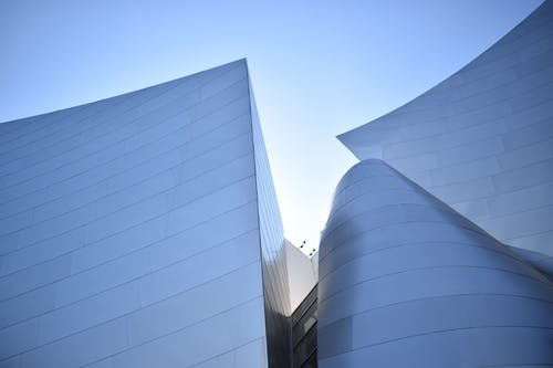Low Angle View of White Building